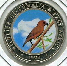 1998 Somalia Large 25 Sh-Wildlife -Weawer Bird on Branch