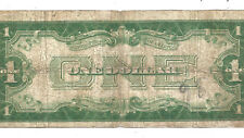 1928A $1 Silver Certificate! *FUNNY BACK* VG/FINE! Old US Paper Money!