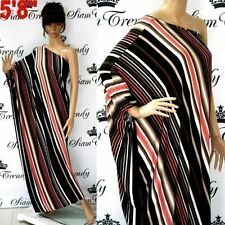 Polyester Casual Striped Dresses for Women