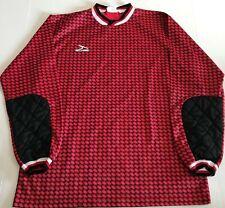 Vintage Score Soccer Jersey - Shirt - Goalkeeper Keeper - Adult Medium - Red