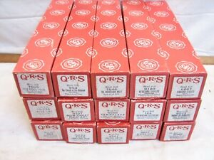 15 QRS Song Player Piano Word Rolls Songs PA Polka Hymn Waltz Dance