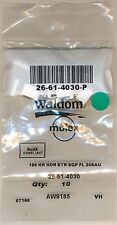 Waldom / Molex 3-Position Connector / Headers 26-61-4030-P packs of 10 (gold)