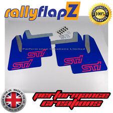 Mudflaps SUBARU IMPREZA New Age (01-07) rallyflapZ 4mm PVC Blue STi style Pink