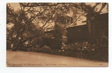1915 Postcard of Residence at Hillsborough San Mateo County CA