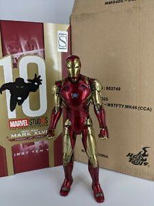 Hot Toys MMS489 D25 Marvel Concept Art Iron Man Mark MK 46 XLVI Diecast pls read
