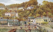 Devon Unposted Printed Collectable Artist Signed Postcards
