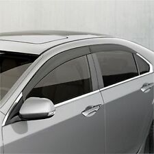 WIND DEFLECTOR RAIN REPELLENT FRONT & REAR HONDA ACCORD TOURER CW BUILT 09-15