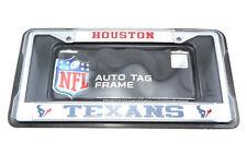 Houston Texans Nfl Officially Licensed Chrome Auto License Plate Frame