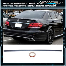 10-16 Benz E-Class W212 4Dr Trunk Spoiler OEM Painted Color # 755 Tenorite Gray