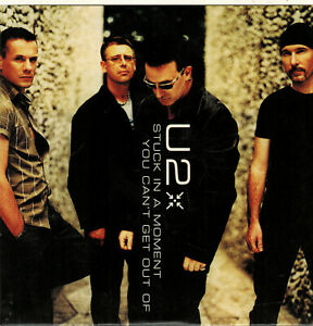 U2 [''Stuck In a Moment You Can't Get Out Of'' 2001 CD singolo]