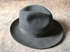 Trilby Hat Handmade By Christys London 100% Wool UK 7 1/4 US 7 3/8 59 mm