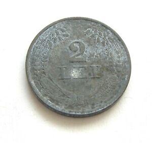 u957 Romania 2 lei 1941 ZINC COIN KM#58