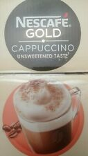 NESCAFE Gold Instant Coffee Cappuccino Unsweetened Taste (5 to 25 sachets) plus.