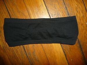 Lululemon METAL VENT TECH HEADBAND BLACK ONE SIZE NWOT