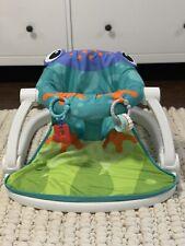 Fisher Price Sit-Me-Up Frog Floor Seat