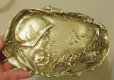 Antique Bronze Art Nouveau Female The French Lieutenant's Woman
