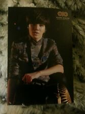 Infinite sungjong second invasion  OFFICIAL Postcard Kpop K-pop