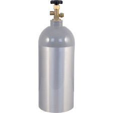NEW Aluminum 10 lb CO2 Tank Air Cylinder Beer Kegerator Welding Homebrew
