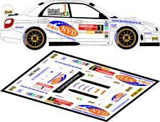 D43149 DECALS 1//43 SUBARU IMPREZA WRC RALLYE ULSTER 2007 MEEKE #3