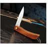 Pocket Folding Knife Blade Rosewood Stainless Steel Camping Hunting Skinning Pro
