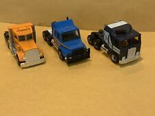 Matchbox Superfast No. 43 Peterbilt, No. 45 Kenworth, No. 8 Scania Tractor Cabs