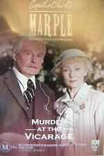 DVD Agatha Christie Marple Murder At The Vicarage Region 4