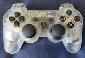 DUALSHOCK3 PS3 Crystal Clear Skeleton Sony Genuine Controller Rare