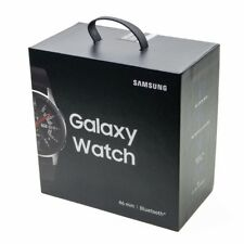 Samsung Galaxy Watch 46mm Bluetooth Silver Smartwatch SM-R800 _