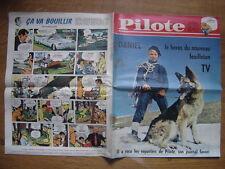 1961 PILOTE 106 pilotorama MARIGNAN 1515 Daniel et son chien nouvel heros TV