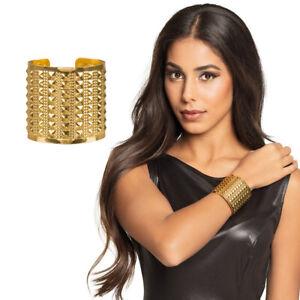 Ägyptischer Schmuck Armreif Cleopatra Armband gold Römerin Armspange Armschmuck