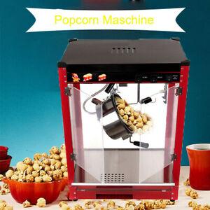 Profi Popcornmaschine Retro Popcorn Maker Home Popcornautomat 1370W Samger