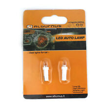T5 286 LED Dashboard Bulbs 0.4W 1 5050 SMD Speedo Wedge Bulb Lights*