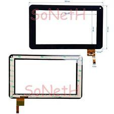 "Vetro Touch screen Digitizer 7,0"" Logicom Tab 752 Tablet Nero"
