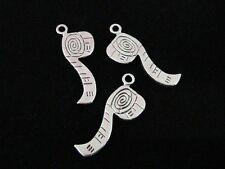 10 X 26mm Plata Tibetana Hágalo usted mismo Cinta Métrica encantos colgante de joyería artesanía U138
