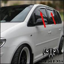 Set 4 Déflecteurs de vent pluie air teintées VW Touran 2003-2015 Volkswagen