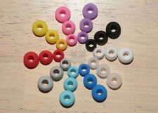 4 Pairs Replacement Tips for JVC In Ear Buds Earphones Rubber Soft