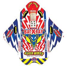 Airhead Sportsstuff Bat-X-Ray 1-Rider Veer Worx Skill Towable Tube | 53-1510
