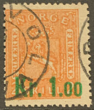 NORWAY 1895 SURCH SG122 USED CAT £55