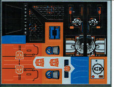 TRANSFORMERS GENERATION 1, G1 AUTOBOT SANDSTORM REPRO LABELS / STICKERS