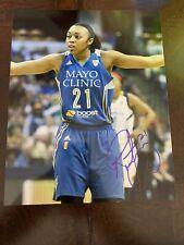 RENEE MONTGOMERY Signed 8x10 Photo WNBA LYNX Basketball UCONN HUSKIES