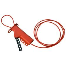 """Brady All-Purpose Glass-Filled Nylon Cable Lockout, W 1/8"""" Diameter Nylon Cable"""