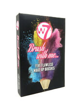 W7 Brush With Me - Set Of 5 Make Up Brushes