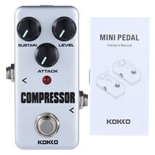 KOKKO FCP2 Mini Compressor Pedal Portable Guitar Effect Pedal I3E4