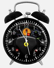 "Super Car Alarm Desk Clock 3.75"" Home or Office Decor W457 Nice For Gift"