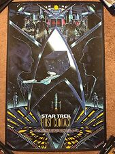 Star Trek First Contact Kilian Eng Movie Print Poster Mondo The Next Generation