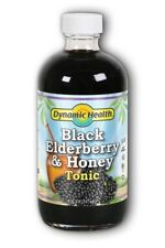 DYNAMIC HEALTH - Black Elderberry and Honey Tonic  8 fl. oz. (237 ml)