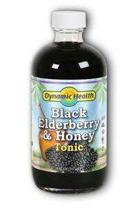 DYNAMIC HEALTH - Black Elderberry and Honey Tonic  8 fl. oz. (237 ml)