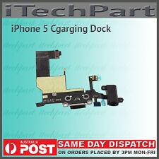 Lightning Connector Charging Dock Headphone Jack Flex Cable For iPhone 5 BLACK