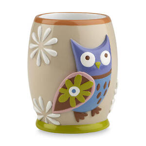 Essential Home Owl Bathroom Tumbler