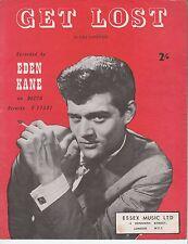 GET LOST-EDEN Kane - 1976 SPARTITI MUSICALI